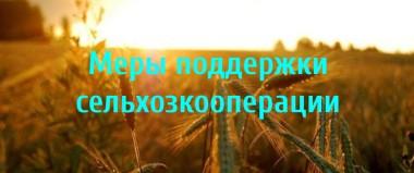 Меры поддержки сельхозкооперации agro-coop.ru