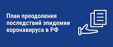 Меры Правительства РФ по борьбе с коронавирусной инфекцией поддержке экономики